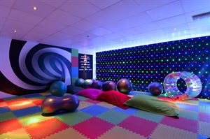 The new sensory room at Sand Le Mere