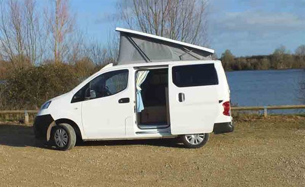 Small Campervan's Nissan NV200 - © Warners Group Publications