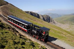 The Snowdon Mountain Railway - a great adventure on Wales' highest mountain (pic courtesy Snowdon Mountain Railway)