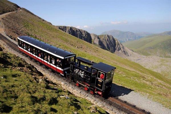 The Snowdon Mountain Railway - a great adventure on Wales' highest mountain (pic courtesy Snowdon Mountain Railway)