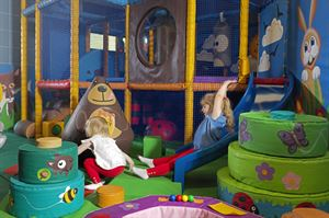 Challenges in Silverdale's soft play area can help develop many of the skills of mountain craft