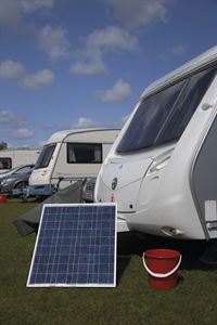 Fitting a solar panel to your caravan can give you free energy