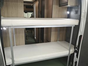Rear bunk beds in the Axon Spirit