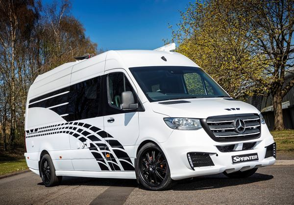 The Sprinter 314, converted by SC Sporthomes