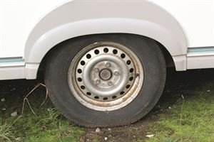 Example of a steel wheel