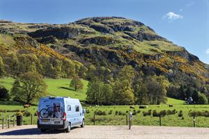 A campervan holiday in Stirling