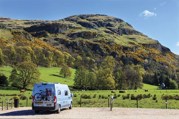 A campervan holiday in Stirling