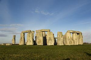 Stonehenge: VisitEngland/English Heritage/Iain Lewis