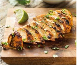 Chipotle and lime marinated chicken