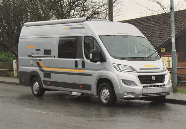What budget 'van comes with an awning?