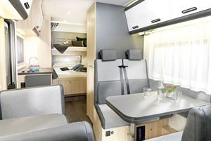 Interior view of the Sun Living 70DK