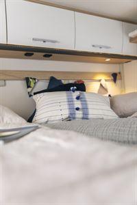 Bedroom, with overhead storage