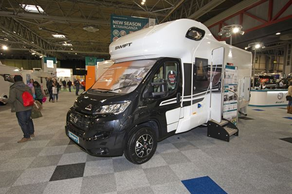 The Swift Edge 476 Black Edition motorhome