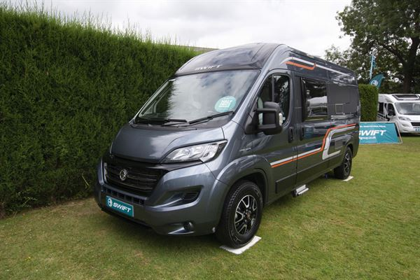 The Swift Select 174 campervan