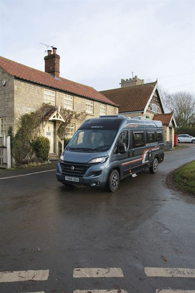 The Swift Select 184 motorhome