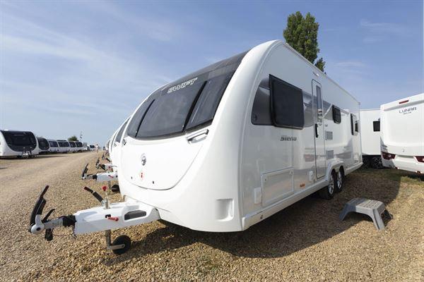 The Swift Siena Super FB caravan