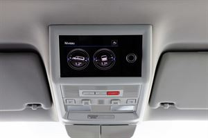 The control panel is one of the new functions