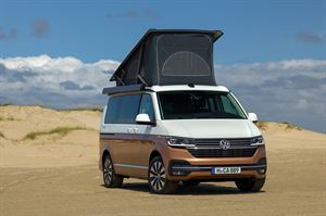 The new VW California 6.1 campervan