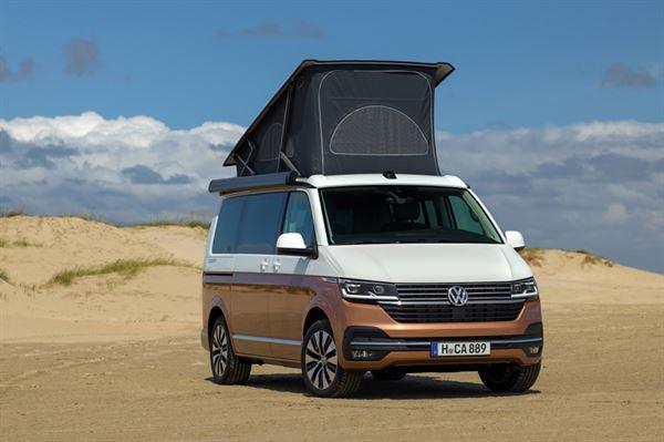 The new VW California 6.1 campervan