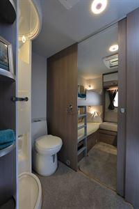 Spacious washroom and rear bedroom