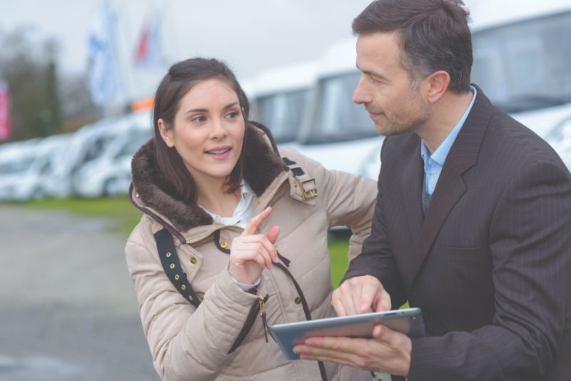 Haggle over your caravan purchase