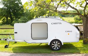 Caretta Cargo trailer is now available in the UK