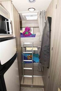 The rear bunk beds are a major plus point © Warners Group Publications, 2019