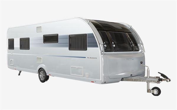 The Adria Alpina Mississippi caravan