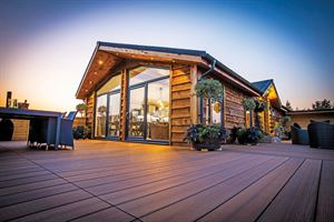 The Lissett Alaska lodge (Image: Lissett Homes)
