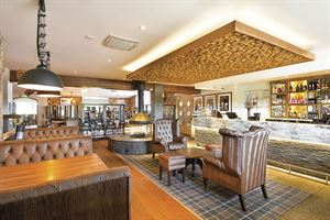 The interior at the Braes, St Andrews Holiday Park