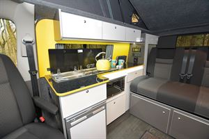 Inside The Camper Factory VW T6.1 campervan