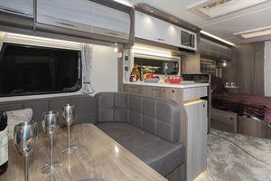 The Coachman Lusso is an impressive caravan