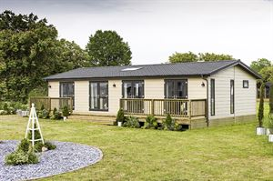 The Pathfinder Willow lodge. Image: Pathfinder Homes