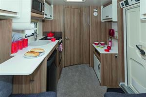 The Quattro EB is a caravan of two rooms!