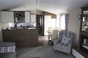 Inside the Willerby Avonmore at Dulhorn Farm Holiday Park