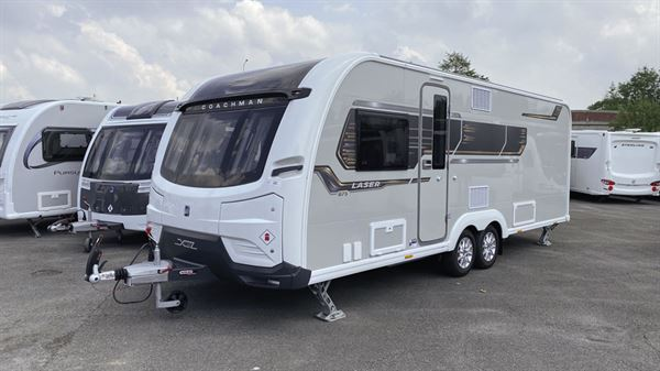 The Coachman Laser 875 caravan