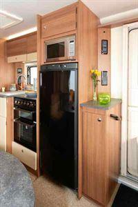 A 145-litre fridge