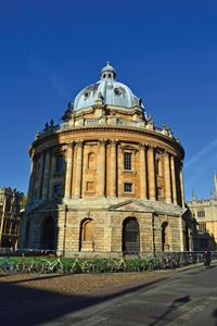 The landmark Radcliffe Camera in Oxford