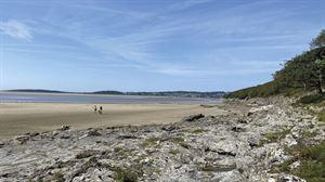 The beach at Far Arnside