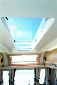 The long rectangular rooflight is a stunning feature