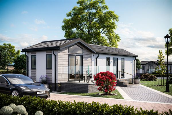 The new Tingdene Cosgrove, which is available as either a park home or a leisure lodge