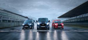 The new Transit Sport van range
