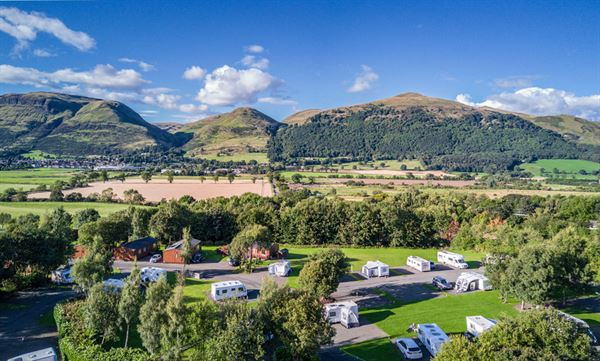 The Woods Caravan Park in Clackmannanshire