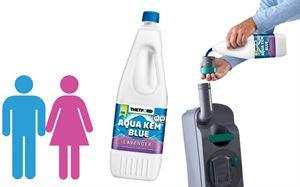 Thetford to lunch smaller, lighter toilet chemical bottles sizes