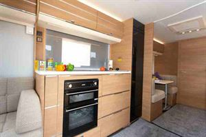 Three deep drawers, each 65cm wide, give you good kitchen storage space