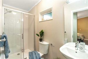 The bathroom in the new Harrington