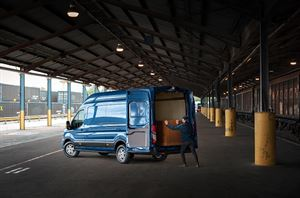 The new Ford Transit