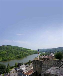 A view of the Moselle, seen from the castle at Sierck-les-Bains © Warners Group Publications, 2019