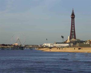 The iconic Blackpool Tower