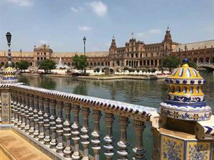 Plaza de Espana in Seville - picture courtesy of Paul Knight